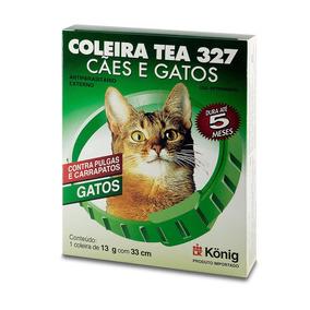 Coleira Antiparasitária Tea Konig Para Cães E Gatos