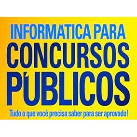 Curso De Informática P/ Concursos 13 Dvds Video Aulas - A1