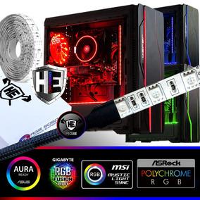 Fita Led Rgb Pc Gamer Rtx Gabinete Computador 2m Sync Mb Top