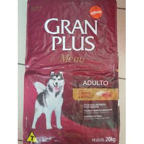 Ração Granplus Cães Adultos Carne E Arroz 20kg