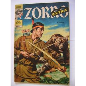 Zorro Extra Nº17 Janeiro 1972 Ebal Raro Muito Bom!