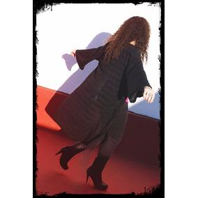 Saco Largo Mujer Lana - Saquitos 41dff5168504