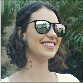 8e1de4fb53d1f Oculos De Sol Rosa Feminino Veludo Redondo - Óculos no Mercado Livre ...