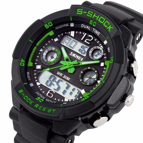 Relógio Skmei 0931 Verde Led Sports Watch Prova D