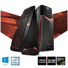 Pc Gamer Acer Aspire Gx-783-br13 I7-7700 1tb Hd 1060gtx