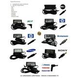 Cargador Para Laptop, Dell, Toshiba, Samsung, Acer, Hp, Asus
