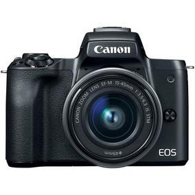 Câmera Canon Eos M50 C/ 15-45mm F3.5-6.3 Mirrorless Com Nf-e