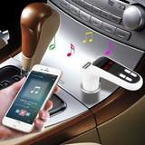 Transmisor Receptor Bluetooth G7 Fm Llamada Música Autos