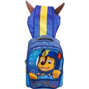 Mochila Escolar Infantil Patrulha Canina Menino Costas 7953