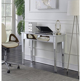 Convenience Concepts Gold Coast Mirrored Desk Vanity ac0c85dfc3b20