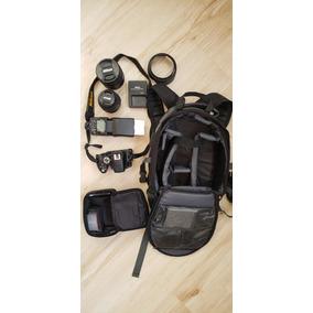 Nikon D5100, Lentes 18-55 E 24-120mm F/4g 77m, Flash Sb-700