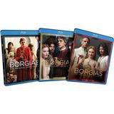 The Borgias The Complete Pack Series Bluray
