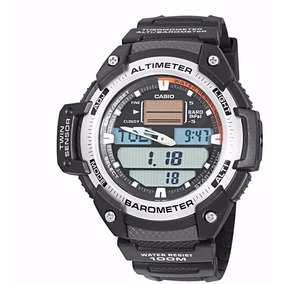 7467d992698 Relógio Casio Outgear Sgw 300 Altímetro Barômetro Inox Novo ...