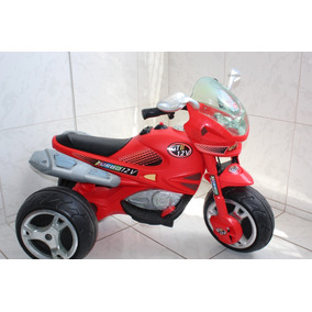 Moto Elétrica Turbo Infantil