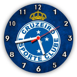 bf47a540361 Relógio De Parede Time De Futebol Cruzeiro no Mercado Livre Brasil