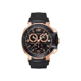 Reloj Tissot Dorado Suizo Cristal De Zafiro