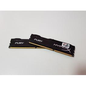 Memória Ram Hyperx Fury Ddr3 2x4gb 1866mhz Par