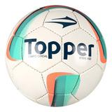 Bola Topper Campo Strike 4 Oficial - Futebol no Mercado Livre Brasil 250724bdaa358