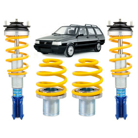 Kit Suspensao Rosca Sport Tebao Custo-beneficio