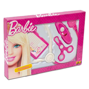 Conjunto De Médica Básico Kit 01 - Barbie - Fun