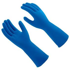 4ca509f81e278 Luva Nitrilica Mucambo Azul - Acessórios da Moda no Mercado Livre Brasil