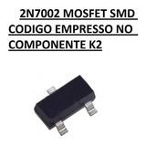 2n7002 Mosfet Smd K72 Sot23 10 Unidades