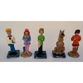 Bonecos Turma Do Scooby- Doo Em Resina