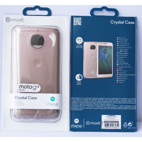Capa Muvit Protetora Cristal Case Transparente Moto G5s Plus