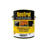 Impermeabilizante Neutrol Tinta Asfáltica 3,6l Vedacit