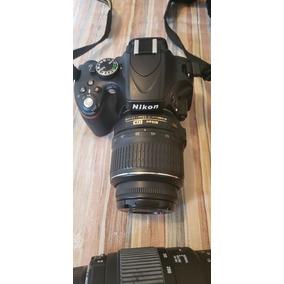 Nikon D5100 + 2 Lentes + Tripé
