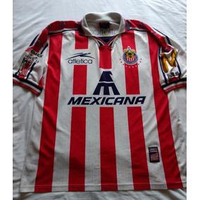 Jersey Playera Club Deportivo Guadalajara Mexicana Chivas Xl ca47a6f1dfd4f