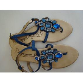9869f014f Sandalia De Onca Carmen Steffens Mulher Rasteirinhas - Sapatos no ...