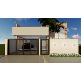 Projeto Arquitetônico - Residência 10x20 - 125m²
