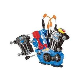 Brinquedo Hot Wheels Motor Radical Monte E Desmo Fun 661-183