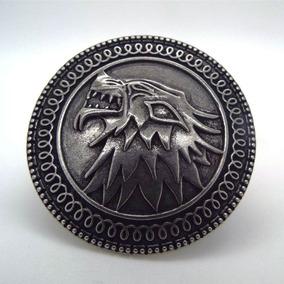 Broche Escudo Stark Jon Snow - Game Of Thrones