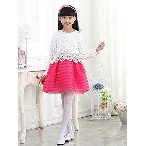 Vestido Niña Ropa Intantil Princesa Elegante