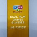8d51db4f794a3 Kit 2 Óculos De Games Dual Play Da Tv Lg Cinema Ag-f310dp