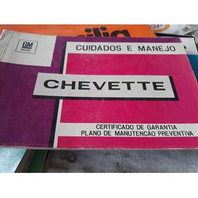 Manual Chevette Original