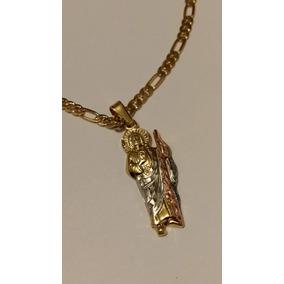 1b2915910e1 Cadena Oro San Judas - Dijes y Medallas Oro en Mercado Libre México