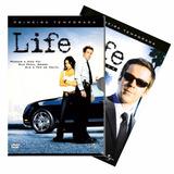 Life - Série Original 1ª E 2ª Temporadas 8 Dvds