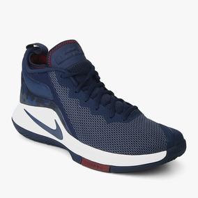 Tênis Masculino Nike Lebron Witness Ii Nike Azul/ Branco