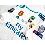 Playera Jersey adidas Real Madrid 2017-18, Ronaldo