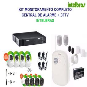 Kit Segurança - Dvr 4 Cn + Alarme Anm 3004 (intelbras)