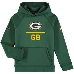 Nfl New Green Bay Packers Sudadera Youth Under Armour 3bca10ed253