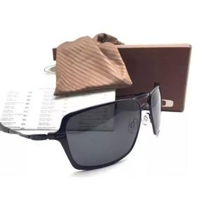 ca7f463ef844b Oculos De Sol Inmate Todo Preto Polarizado Metal Promoção!