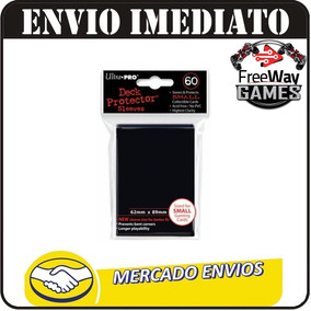 Sleeves Ultra Pro 60 Small Yugioh - Diversas Cores