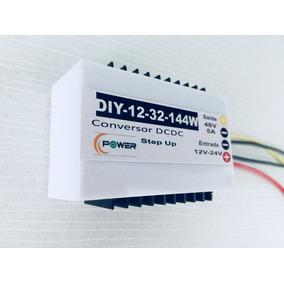 Conversor 12-24v Saída 48v Dc/dc 5a Boost Step Up Voltagem B