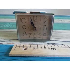 Antiguo Westclox Reloj Despertador Eléctrico Usa