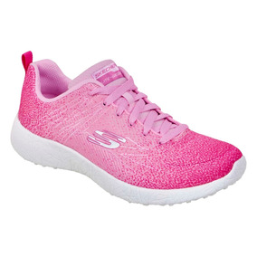Tenis Skechers Color Rosa Runnin Para Dama