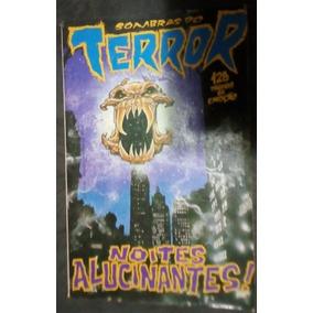 Revista Sombras Do Terror Noites Alucinantes - Ed Sampa 1990